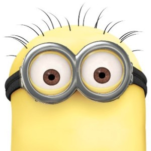 Minions Hair and Yellow Makeup