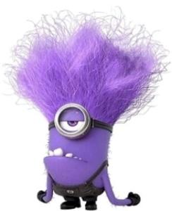 One Eyed Purple Minion