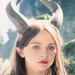 Young Maleficent Close up