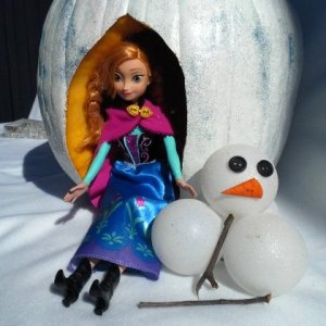 Anna Pumpkin Centerpiece