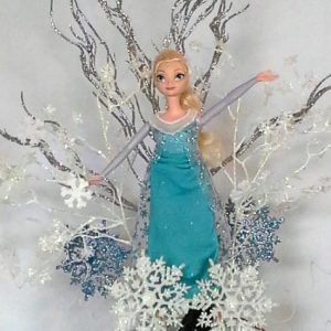Elsa Pumpkin Centerpiece