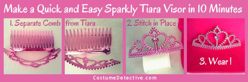 Quick and Easy Tiara Visor Instructions