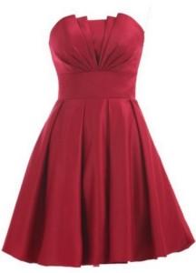 Red Dress A Line