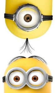 One eyed and Two eyed Minion