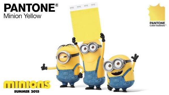 Minion Yellow from Pantone®