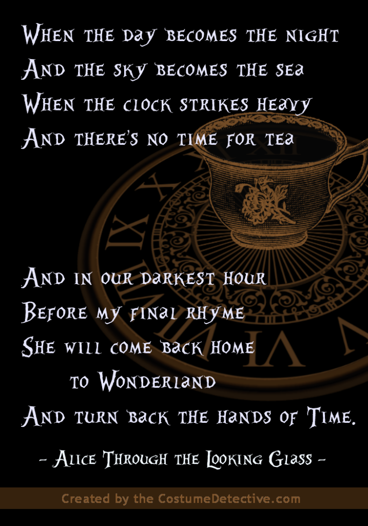 Alice Through the Looking Glass poem