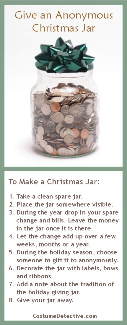 Give A Christmas Jar As A Caring Holiday Tradition