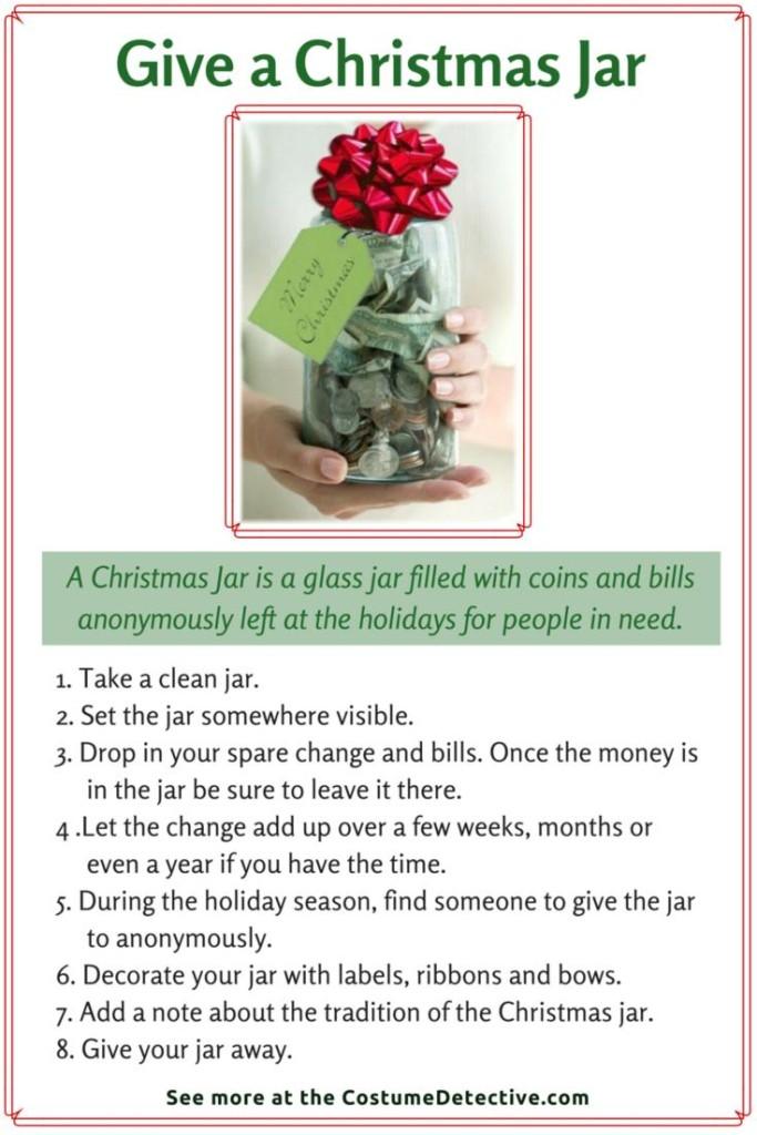 Give a Christmas Jar