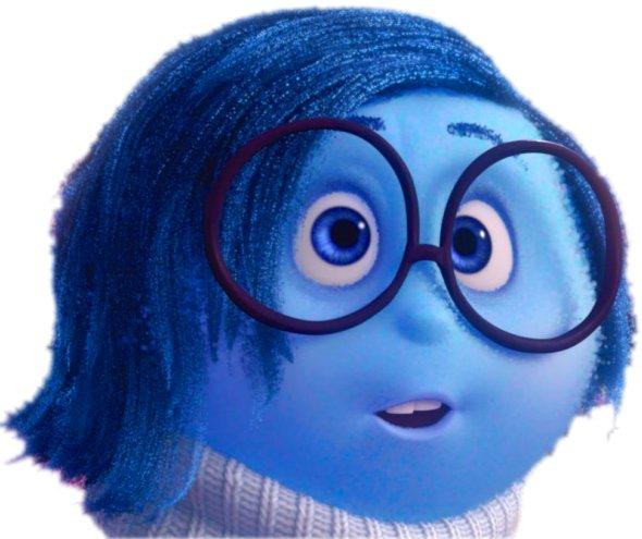 Sadness in Purple Glasses