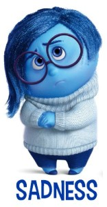 Sadness from Disney Pixar Inside Out