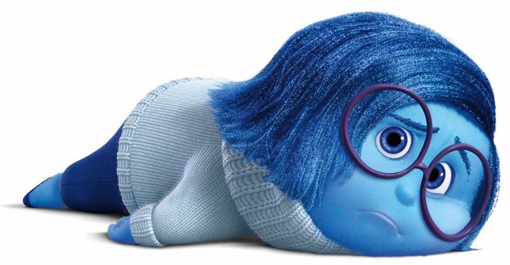 Sadness Deflated from Inside Out