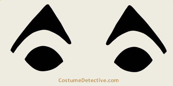 Masked Twins Eye Template